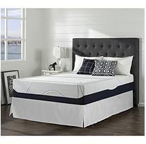 "Night Therapy Gel Infused Memory Foam 13"" Elite California King Mattress & Bed Frame Set"