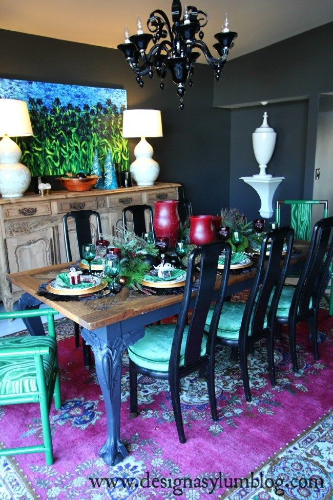 How To Rock Mismatched Dining Chairs