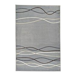 IKEA - ÖLHOLM, Rug, low pile, The thick pile dampens sound and provides a soft surface to walk on.Durable, stain resistant and easy to care for since the rug is made of synthetic fibers.