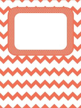 FREEBIE - Use your favorite font to label these cute binder covers.