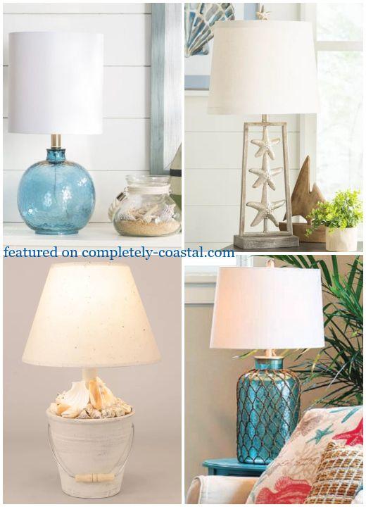 Clic Coastal Theme Table Lamps