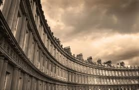 Bath England- The circus - remember max and I running past this at night - it was pouring with rain! so romantic!