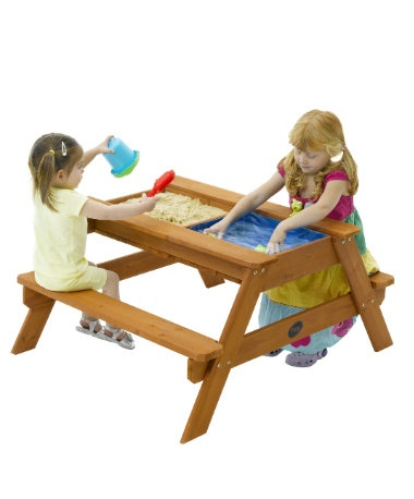 Plum Sand and Water Picnic Table