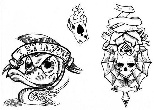 Risultati immagini per disegni tatuaggi