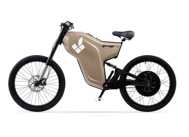 Rimac Greyp G12 Electric Bike Has A Top Speed Of 65 Km/h With A