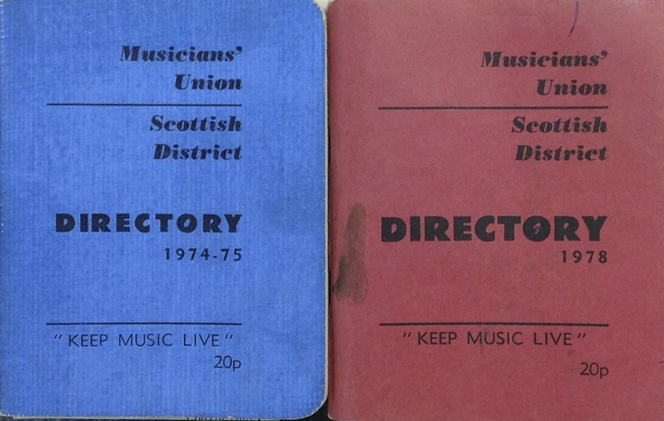 Some Scottish District directories from the 1970s.