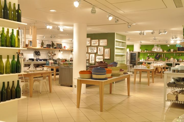 Conran Shop Flagship Store By Jamieson Smith Associates, London