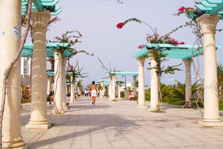 I walked here everyday :) ohmygosh. love this place.  Hammamet, Tunisia