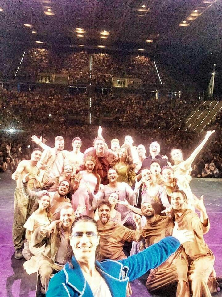 Selfi dopo lo spettacolo di Torino 21/05/2016  <3