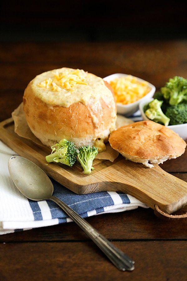 Cheddar Broccoli Soup   The Little Epicurean