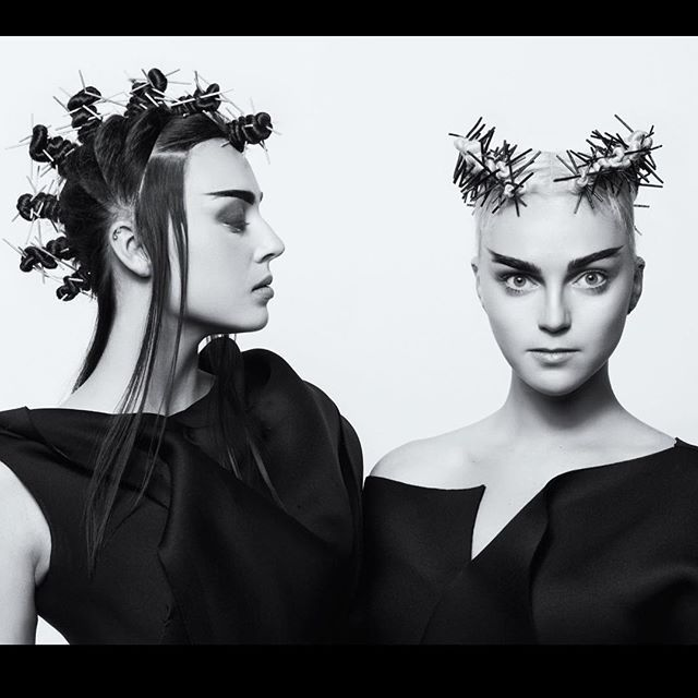 Evans Hairstyling College Pleasing 23 Best 必 Images On Pinterest  Editorial Hair Hair Inspiration