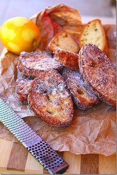 Panza & Presenza: Le fette di pane fritte ( La Schnitte )