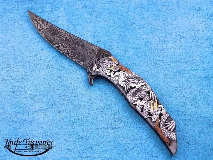 Custom Knives Handmade By Jody Muller For Sale By Knife Treasures Custom Knife Knife Custom Knives Handmade