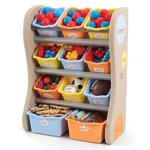 Qoo10 - Step2 Fun Time Room Organizer - Tropical Colors : Toys