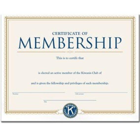 New Member Certificate Template Word Template Certificate Templates Free Certificate Templates