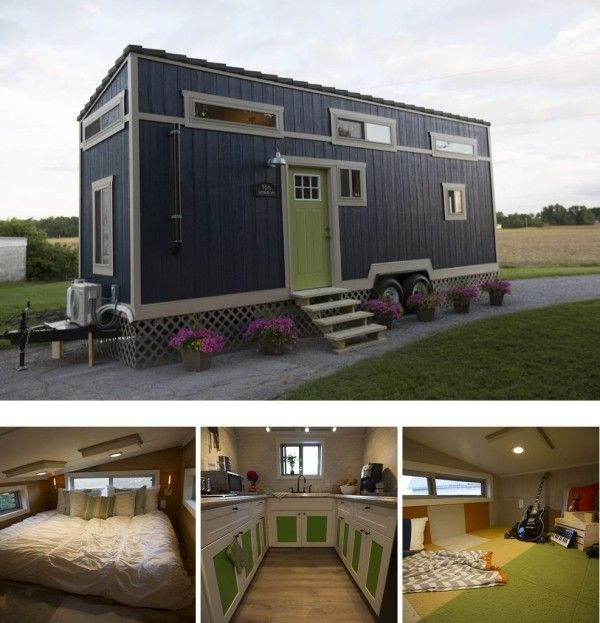 Tiny House On Wheels Two Lofts 709 best tiny houses images on pinterest | small houses, small