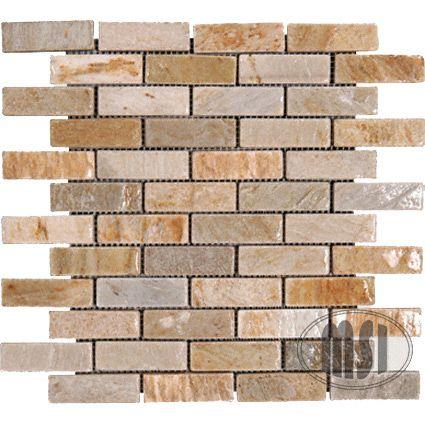 Kitchen Brick Backsplash Pinterest