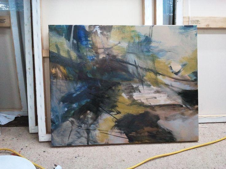 Oil on canvas work in progress by Gail Barfod https://www.facebook.com/gailbarfodartist