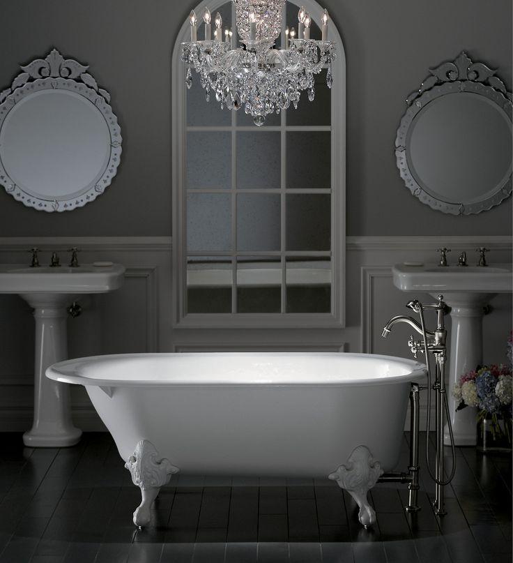 kohler cast iron freestanding tub. Iron Works Historic freestanding bath 23 best Freestanding Baths images on Pinterest