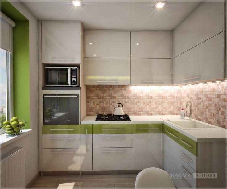 """Дизайн студия интерьеров """"КаКаДУ"""" - Портфолио: дизайн интерьера кухни"""
