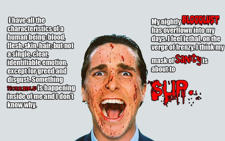 American Psycho quote