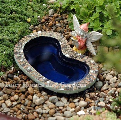 14 best mini garden ponds images on pinterest fairies for Mini garden pool