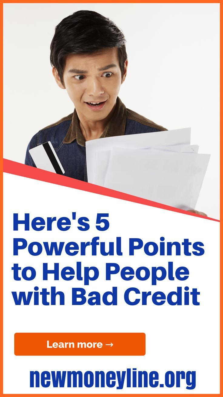 Here Are 5 Powerful Points To Help People With Bad Credit People With Adverse Credit Need To Face Ve Bad Credit Loans For Bad Credit Bad Credit Personal Loans