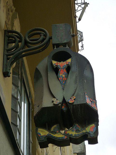 Clothesshop Eger Hungary
