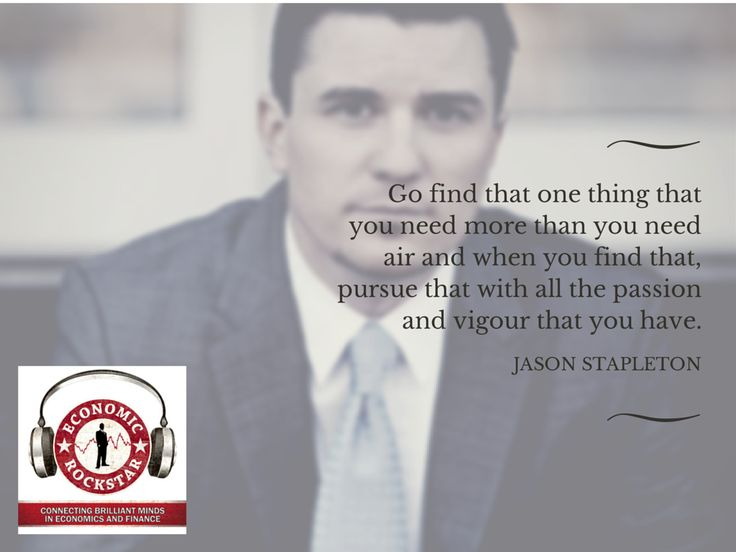 Jason Stapleton on the Economic Rockstar podcast episodes 1 and 2