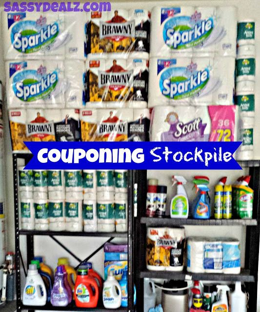 """Coupon inspiration. Stockpile while prices are low.  """"A Look into My Couponing Stockpile With Pictures 