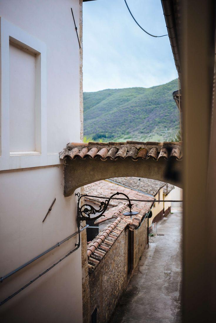 The mountains near Palazzo Seneca, Norcia Umbria, The Taste SF