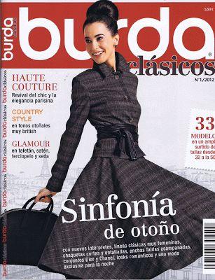 La Dalia Azul. Costura...y lo que surja: Revistas que me compro. Burda clásicos Septiembre de 2012.