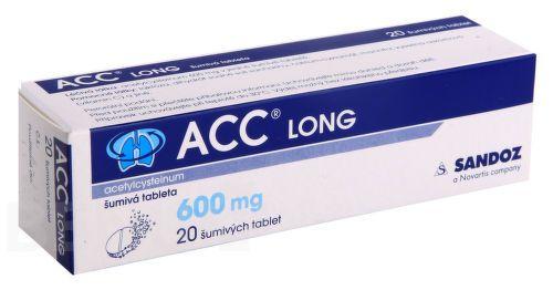 ACC LONG usnadňuje vykašlávání. Užívá se k léčbě akutních a chronických onemocnění dýchacích cest jako je chřipka a další onemocnění. OSOBNÍ ODBĚR ZDARMA.