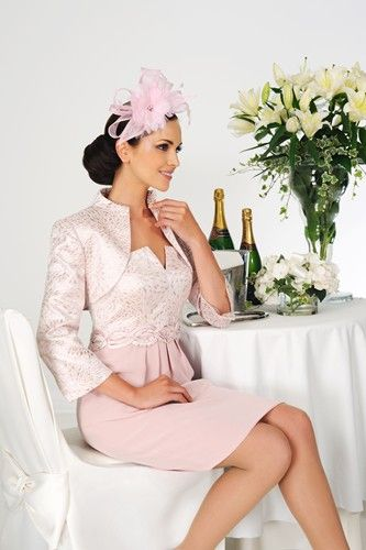 Sophisticated wedding guest outfit design from Dress Code by Veromia.