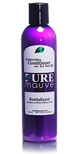 Hair Conditioner Pure Mauve  Sulfate Free Conditioner Made of Tea Tree Oil Ivy Extract and Vitamin E Ideal for Curly Damaged or Color Treated Hair Buy Now and Enjoy the Natural Shine of Your Hair ** Be sure to check out this awesome product.
