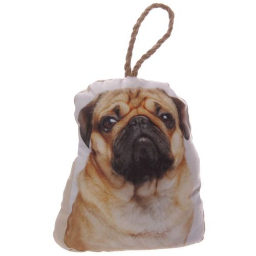 #cute #pug PRICE £7.99 Pug Dog Door Stop. The outer is made from 100% polyester making them strong and durable, with the inner made from 50/50 sand and polyester wadding so they are weighted but not too heavy to move around. Dimensions: Height 24cm Width 20cm Depth 10cm We've more cute animal door stops for sale in our online store ;)