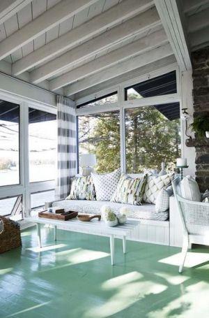 AFTER PHOTOS Sarah Richardon s Rental Cottage Georgian Bay Canada - living room.JPG