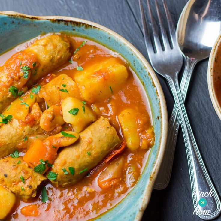 The syn value of this Low Syn Slow Cooker Sausage Casserole will vary depending on the sausages you use. Use Slimming World ones if you want it Syn free.