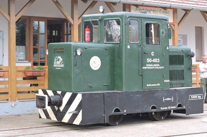 Hortobágy-Halastó - sziktipró-mozdony