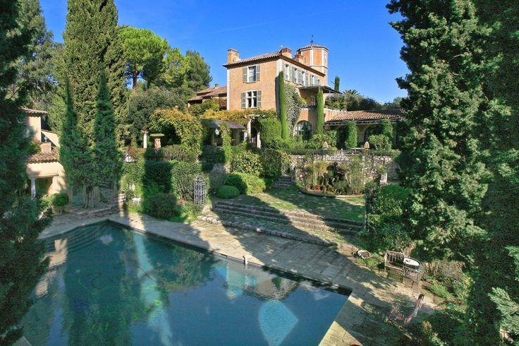 French Villas for Sale | Architectural Digest St Paul de Vence France