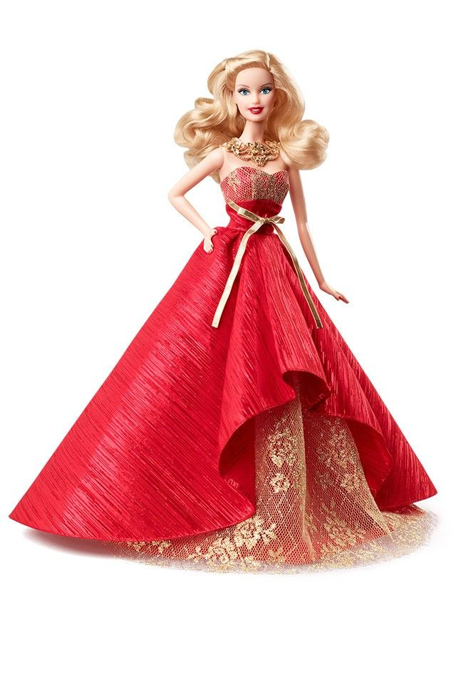 2014 Holiday Barbie™ Doll   Barbie Collector She's here! Can't wait to get her <3