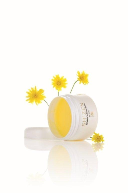 The Sh'Zen Rehydrating Bath - a rich emollient made from natural waxes, Shea Butter and plant oils to provide intense nourishment and moisture to the skin. A wonder product for dry, irritated and inflamed skins.    http://www.shzen.co.za/body_rehydrating.php