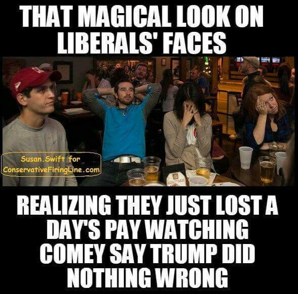 ((((TRUTH BOOM!!!))) Liberal Heads are exploding everywhere over Comey Testimony !!!