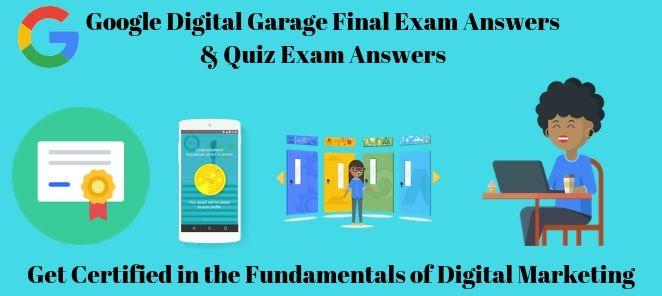 Google Digital Garage Exam Answers Quiz Answers 2020 Exam