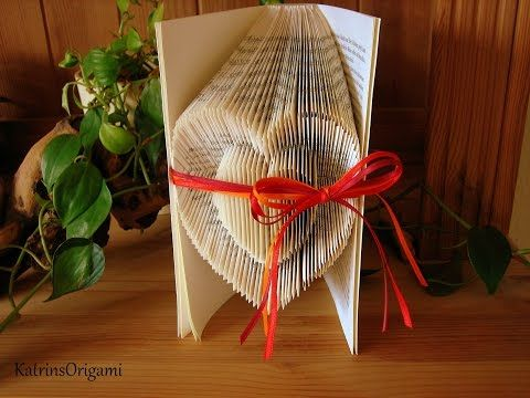 Book folding Art - Origami Sculpture - YouTube