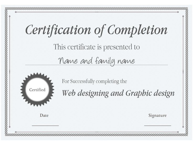 20 best Certificate Templates images on Pinterest - free business certificate templates