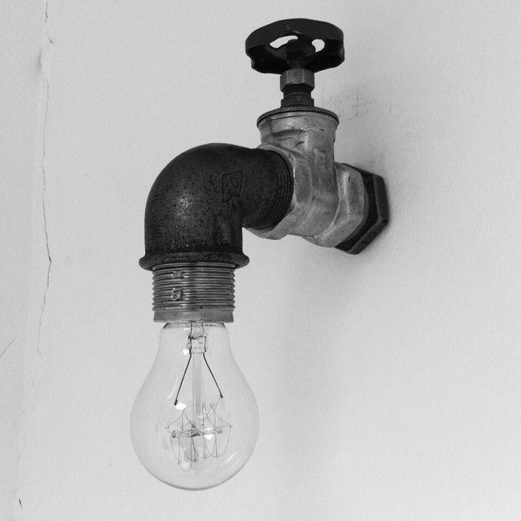 Lámpara-grifo
