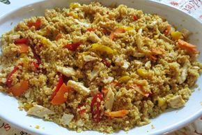couscous di pollo speziato