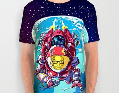 "Check out new work on my @Behance portfolio: ""StarRider / Made-In-ITA tshirt design"" http://be.net/gallery/47046775/StarRider-Made-In-ITAtshirt-design"
