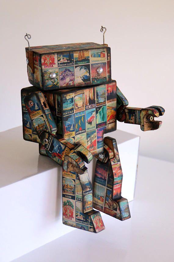 Vintage Poster Robot